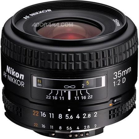 Nikon fD AF Nikkor Lens Grey Market 151 - 306