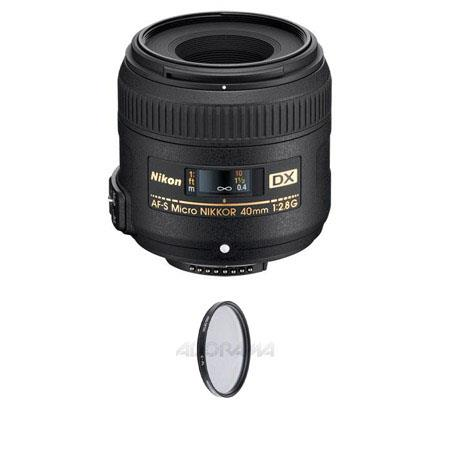 Nikon fG AF S DX Micro Nikkor Lens USA Warranty Free Pro Circular Polarizer CPL Digital Filter Value 149 - 179