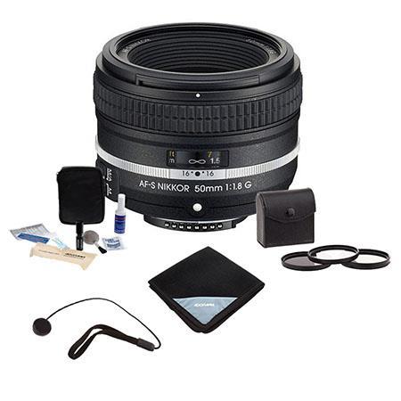 Nikon AF S NIKKOR fG Special Edition Lens Bundle Pro MM Digital Essentials Filter Kit Cleaning Kit L 335 - 93