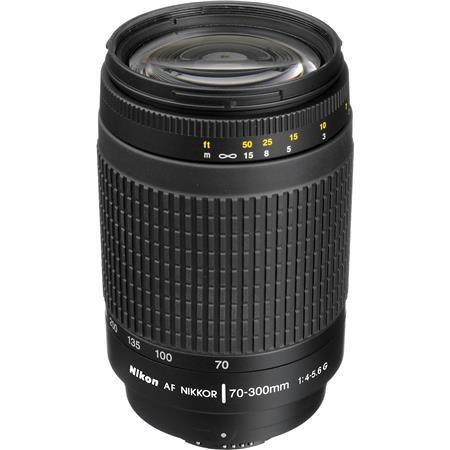 Nikon f G AF Telephoto Zoom Nikkor Lens HB Hood Black Nikon USA Warranty 154 - 602