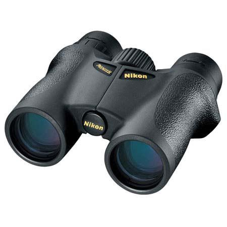NikonPremier Water Proof Roof Prism Binocular Degree Angle of View USA 59 - 169