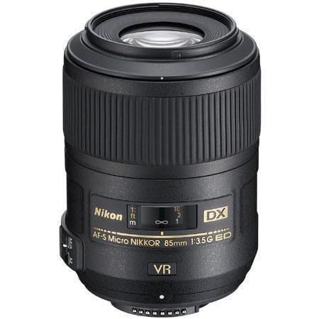 Nikon fG AF S DX Micro ED VR II Vibrationuction Telephoto Nikkor Lens Grey Market 139 - 258