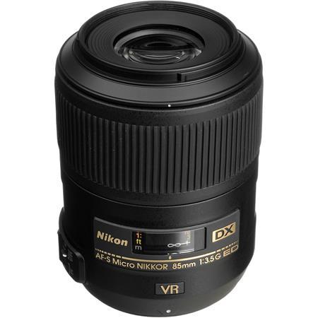 Nikon fG AF S DX Micro ED VR II Vibrationuction Telephoto Nikkor Lens Nikon USA Warranty 139 - 258