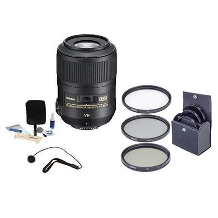 Nikon fG AF S DX Micro ED VR II Vibrationuction Telephoto Nikkor Lens Nikon USA Warranty Accessory B 58 - 71