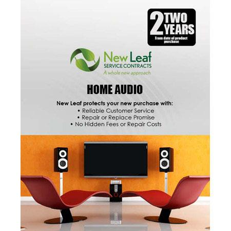 New Leaf Year Home Audio Service Plan Products Retailing up to  249 - 464