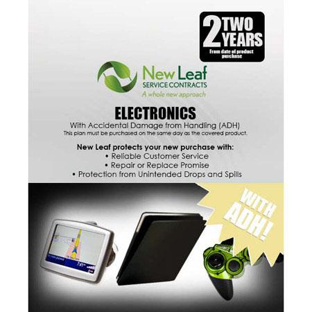 New Leaf PLUS Year Electronics Service Plan Accidental Damage Coverage for Drops Spills Products Ret 192 - 384