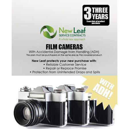 New Leaf PLUS Year Film Camera Service Plan Accidental Damage Coverage for Drops Spills Products Ret 247 - 756