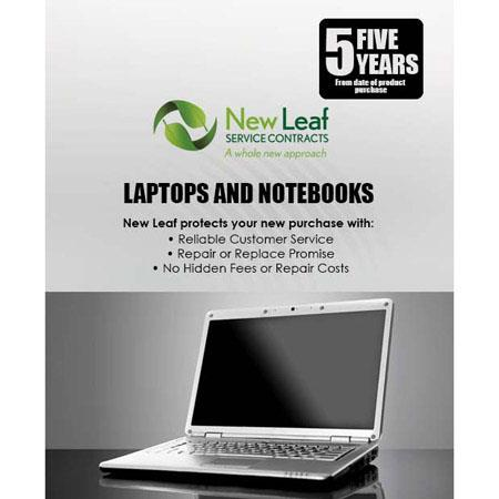 New Leaf Year LaptopNotebook Service Plan Products Retailing up to  303 - 412