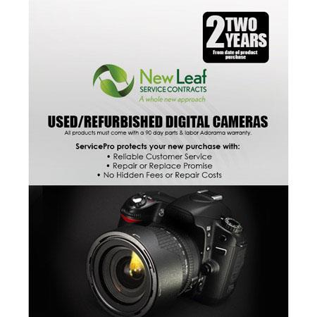 New Leaf Year Used Refurbished Digital Camera Service Plan Products Retailing up to  213 - 496
