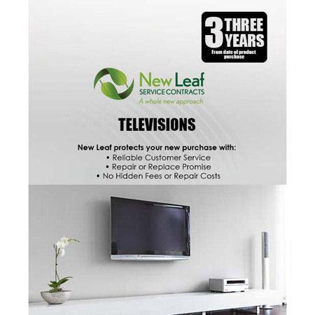 New Leaf Year Television Service Plan Products Retailing up to  114 - 386