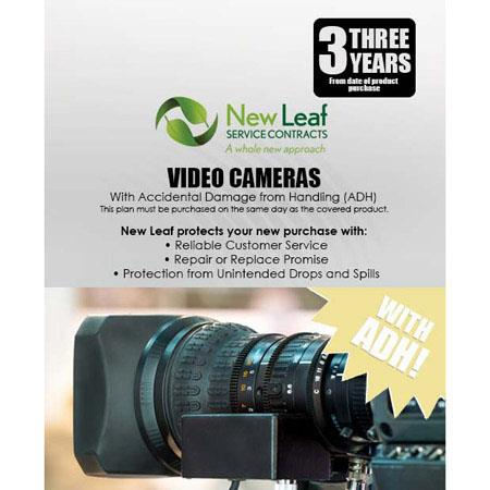 New Leaf PLUS Year Video Camera Service Plan Accidental Damage Coverage for Drops Spills Products Re 77 - 205