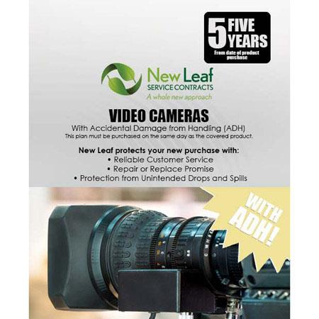 New Leaf PLUS Year Video Camera Service Plan Accidental Damage Coverage for Drops Spills Products Re 126 - 518