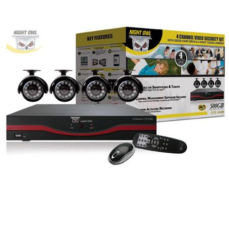Night Owl Channel LTE Full D DVR GB Hard DriveIndoorOutdoor Night Vision Cameras and Free Night Owl  182 - 199
