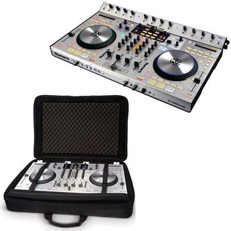Numark Trak Deck DJ Controller and Mixer Traktor DJ Bundle Numark Large Controller Back Pack 274 - 255