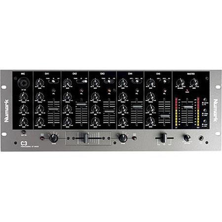 Numark C Channel Rack Mountable DJ Mixer Line Input 105 - 540