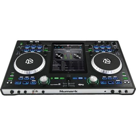 Numark iDJ Pro iPad Integrated DJ Performance Controller Dual Large Control Platters 70 - 445