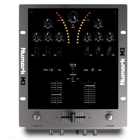 Numark M Two Channel DJ Mixer Transform Buttons and Kills 101 - 448