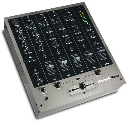 Numark M USB Channel DJ Mixer 80 - 404