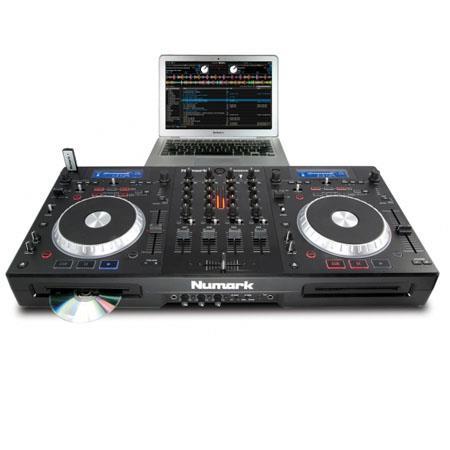 Numark MixDeck Quad Complete System CD MP USB Serato DJ Intro Software 175 - 761