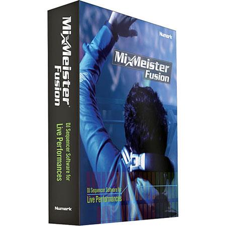 Numark MixMeister Fusion DJ Performance Software Mac PC 81 - 730