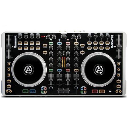 Numark N Deck DJ Controller Mixer Touch Sensitive Platters 114 - 68