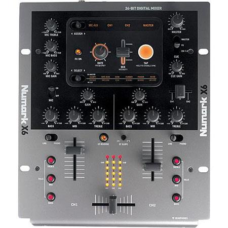 Numark Channel Digital Scratch Mixer Effects 249 - 296