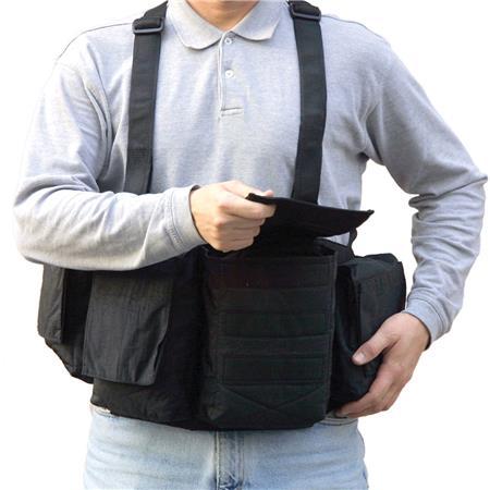 Newswear Mens Digital Chestvest Digital SLR Camera Lens Carry System  74 - 354