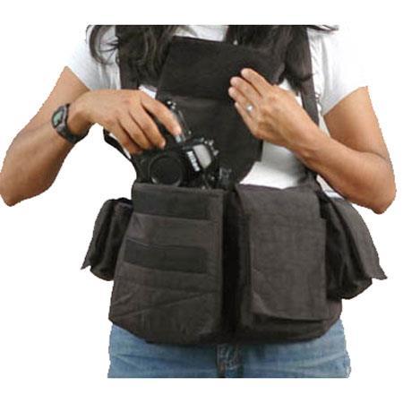 Newswear Womens Digital Chestvest Digital SLR Camera Lens Carry System  74 - 354