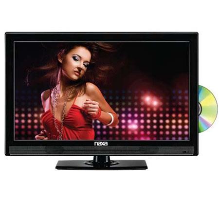 Naxa Widescreen Full HD LED Television Built In Digital TV Tuner USBSD Inputs DVD Player Contrast Ra 142 - 730