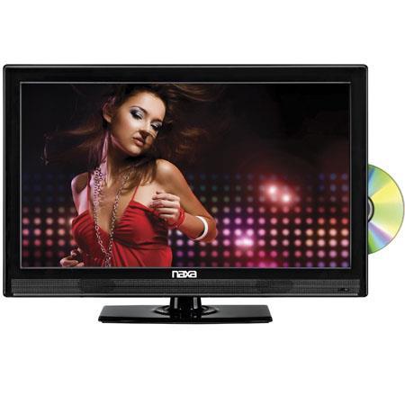 Naxa Widescreen Full HD LED Television Built In Digital TV Tuner USBSD Inputs DVD Player 146 - 86