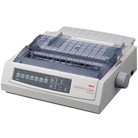 OKI Data Microline T Pin Turbo Dot MatriImpact Wide Carriage Printer All Invoice Printing Needs 30 - 430