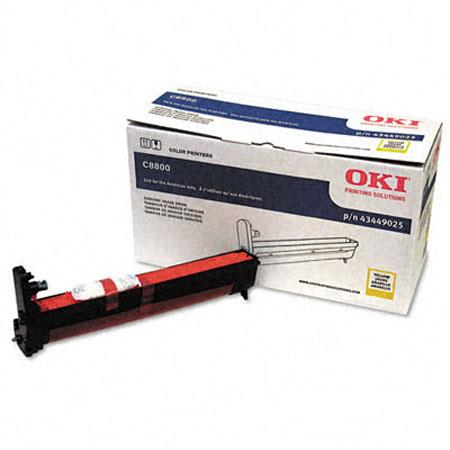 OKI Data Image Drum C Series Printers Yields upto Pages 56 - 521