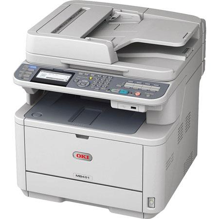 OKI Data MBw LED Multifunction Printer PPM Mono Speeddpi Up to Pages Duty Cycle lt W Power Save Prin 124 - 162