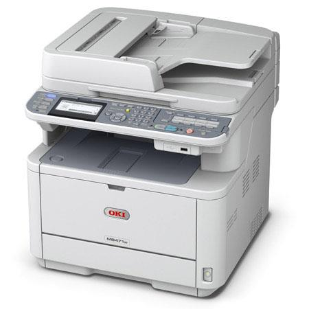 OKI Data MBw LED Multifunction Laser Printerdpi Resolution ppm Mono Print Speed Sheets MaCapacity Pr 81 - 492