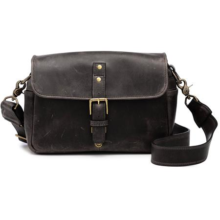 ONA The Bowery Camera Bag and Insert Dark Truffle Leather 221 - 328