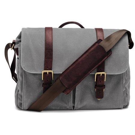 ONA The Brixton Camera and Laptop Messenger Bag Smoke 73 - 311