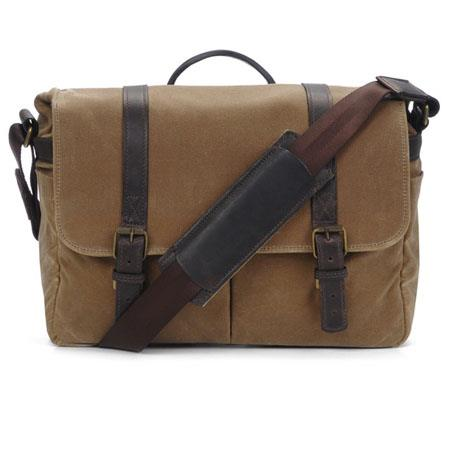 ONA The Brixton Camera and Laptop Messenger Bag Field Tan 73 - 311