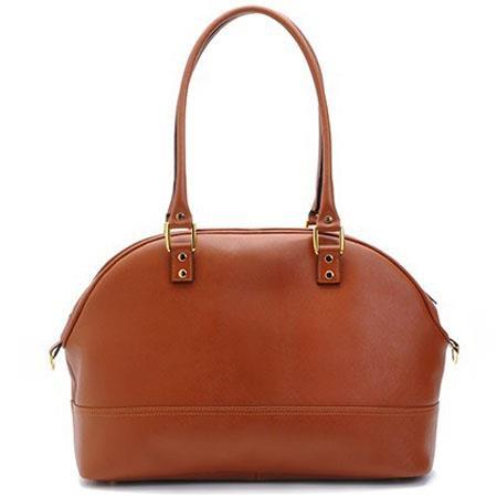 ONA The Chelsea Saffiano Camera Bag Antique Cognac Leather 82 - 179