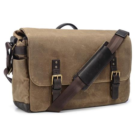 ONA The Union Street Camera and Laptop Messenger Bag Ranger Tan 261 - 81