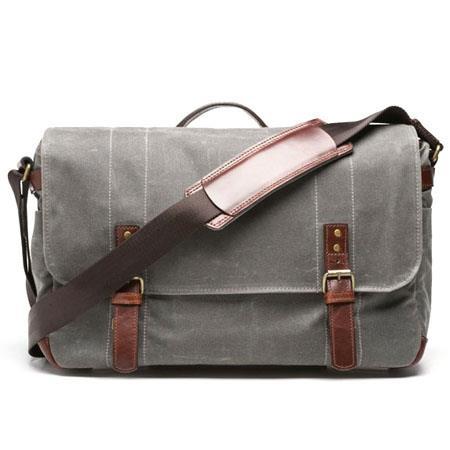 ONA The Union Street Camera and Laptop Messenger Bag Smoke 156 - 44