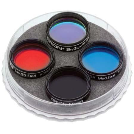 Orion Deluxe Stargazers Filters LPL Moon Five Colored Filters 173 - 672