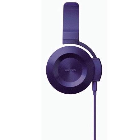 Onkyo On Ear Headphones Violet 146 - 644