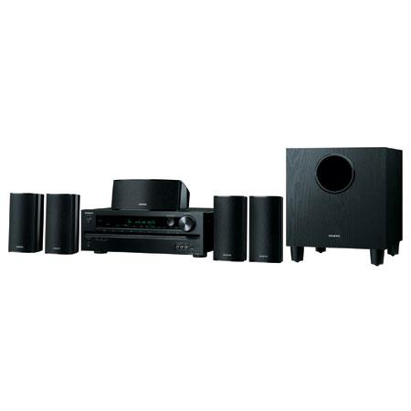 Onkyo HT S Channel Home Theater ReceiverSpeaker Package Total W Output Power 73 - 311