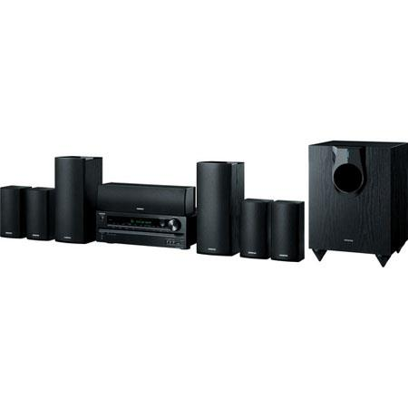 Onkyo HT S Channel Home Theater Package USB iPodiPhone 90 - 555