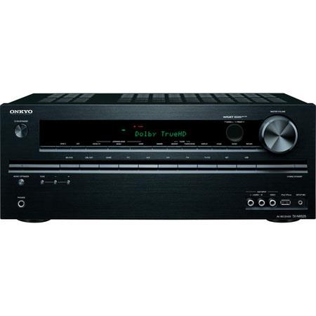 Onkyo TX NR Channel Network AV Receiver W Ohm Dynamic Power dB Signal to Noise Ratio Hz MHz Video Fr 101 - 247