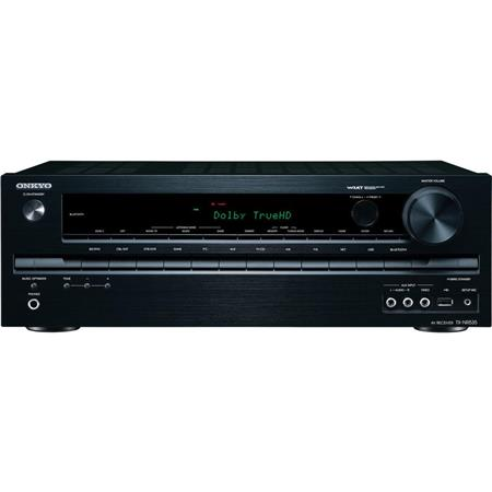 Onkyo TX NR Channel Network AV Receiver mV ohms Input SensitivityImpedance dB SN Ratio Hz kHz Freque 37 - 349