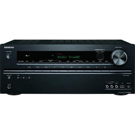 Onkyo TX NR Channel Network AV Receiver W Ohm Dynamic Power Hz kHz Frequency Response dB Signal to N 52 - 576