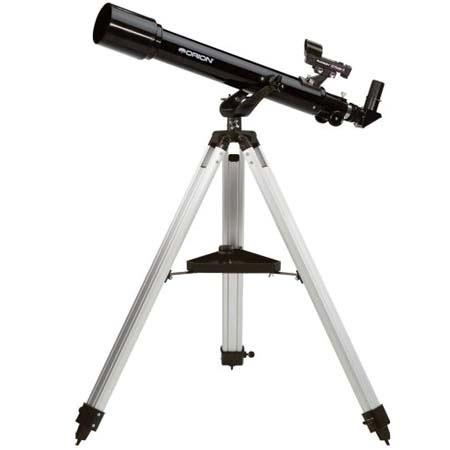 Orion Observer Altazimuth Refractor Telescope Kit Eyepieces Tripod Mount 56 - 489
