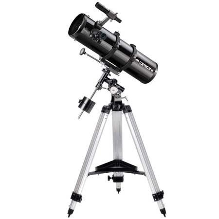 Orion SpaceProbe ST EQ Reflector Telescope Kit Eyepieces Tripod Mount and Software 217 - 686