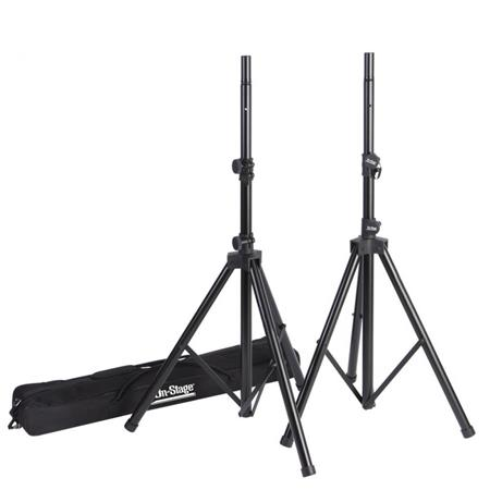 On Stage SSP All Aluminum Speaker Stand Pak Zippered Bag 242 - 693